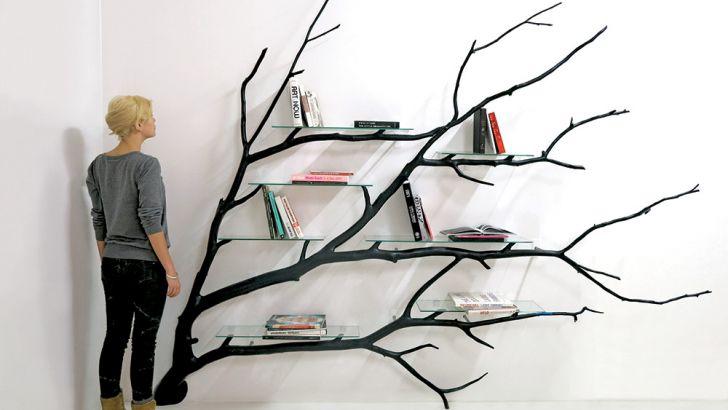 Tree Shelves by Sebastian Errazuriz