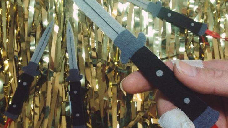 Plushy Switchblades by Steff Bomb