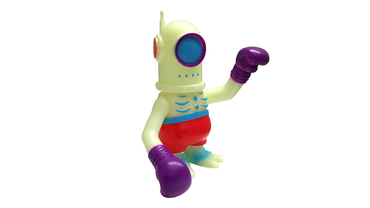 Super 7 Glow Cyclobot Fighter