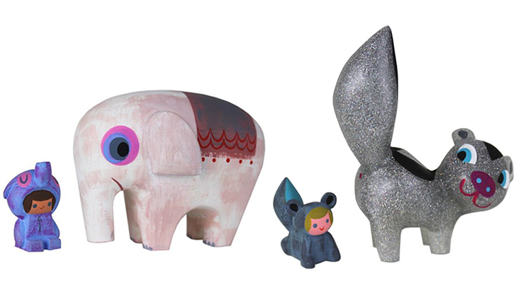 Switcheroo Elephant & Rider and Stardust Skunk & Stinker