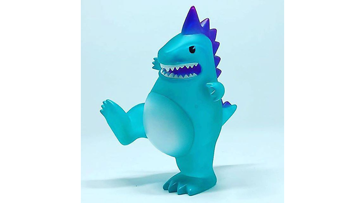 ToyCon UK Clear Teal T-Con the Toyconosaurus
