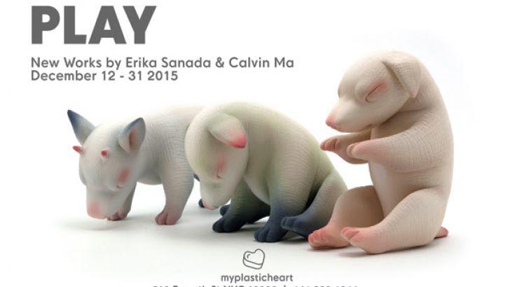 Play: Calvin Ma & Erika Sanada Exhibit at myplasticheart