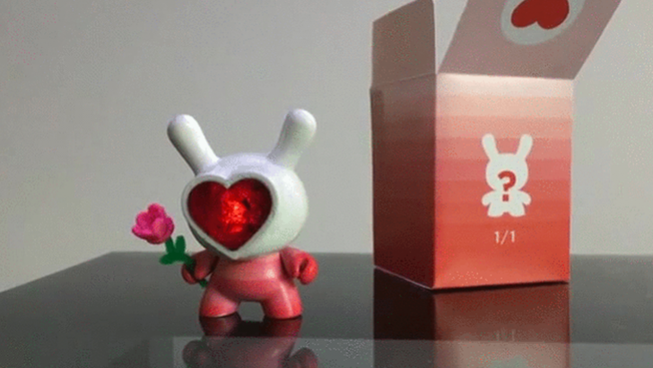 Valentine's Day Dunny from delicious62