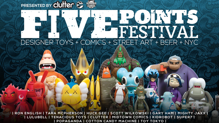 Five Points Festival Tickets Now On Sale!