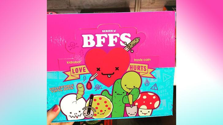 BFFs Series 3 by Travis Cain x Kidrobot