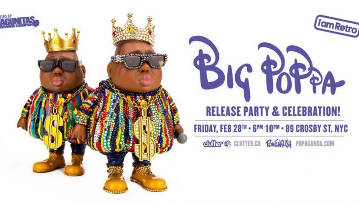 Big Poppa Release Party - Ron English x Swarovski - Friday Feb 28th!