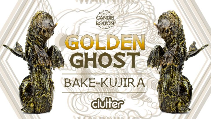 Clutter Exclusive - Golden Ghost Bake-Kujira!