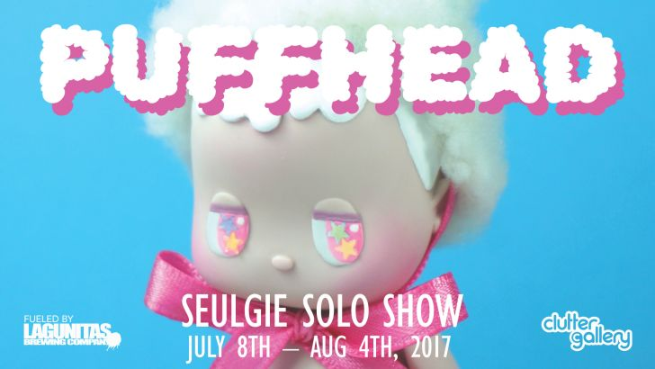 Clutter Gallery Presents: PuffHead a solo show by Seulgie