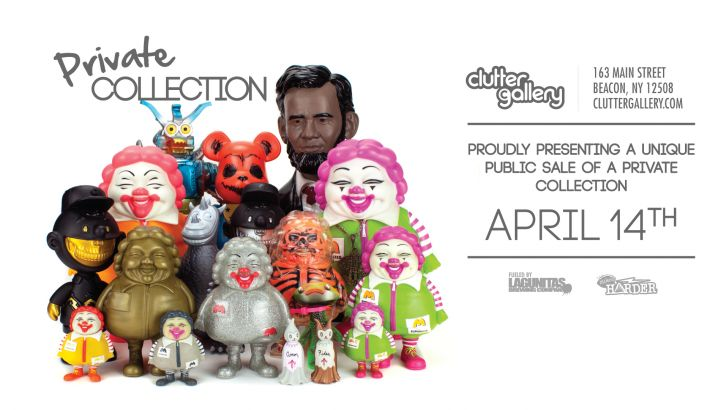 Clutter Gallery Presents: Private Collection.