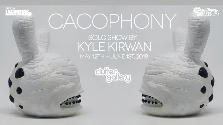 Cacophony. A solo show by Kyle Kirwan