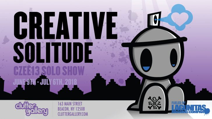 Clutter Gallery Presents: Creative Solitude. A solo show by Czee13