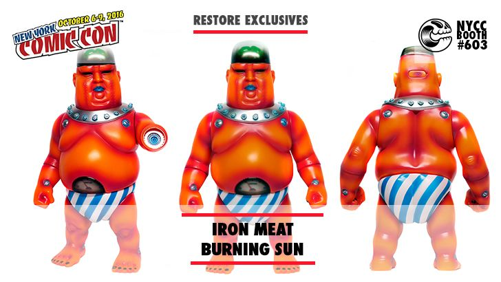 NYCC 16 EXCLUSIVE: RESTORES IRON MEAT BURNING SUN!