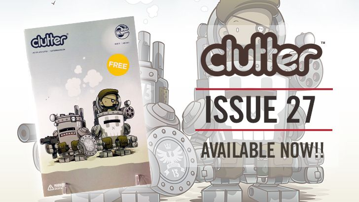 Clutter Magazine issue 27 Huck Gee