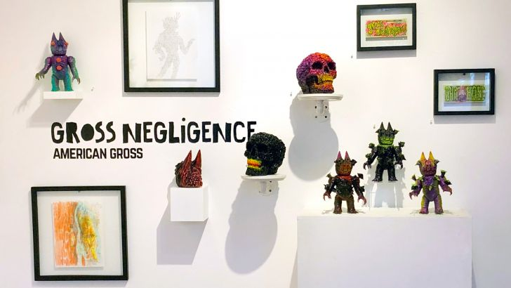 Clutter Gallery Presents: Gross Negligence Opening