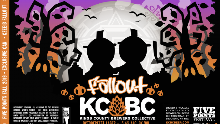 Collect TWO Amazing Exclusive Beer Cans from KCBC & Czee13!