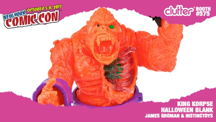 NYCC 17 EXCLUSIVE: King Korpse Halloween Blank