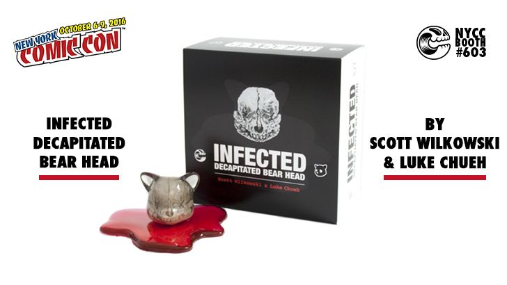 NYCC 16 PREMIER: INFECTED DECAPITATED BEAR HEAD