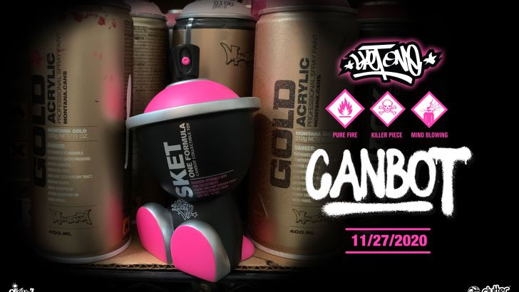 One Formula Canbot by Sket One!