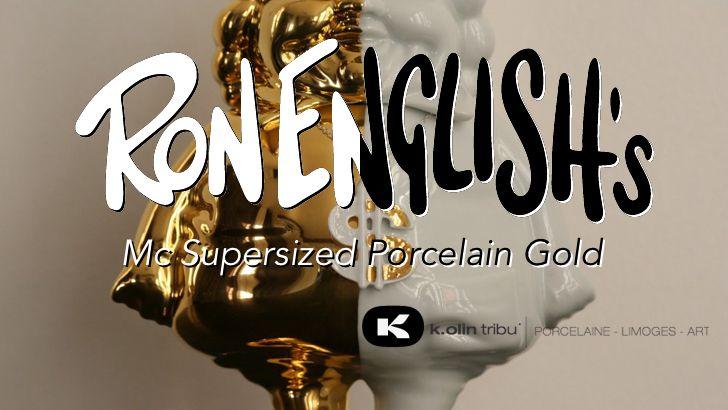 "Ron English's ""MC Supersized Gold Porcelain"" Release!"