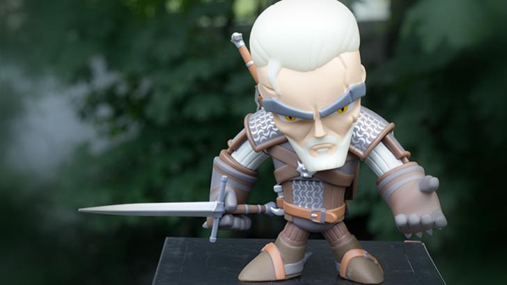 Jinx Geralt Figure