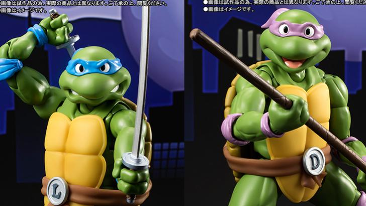 TMNT Teenage Mutant Ninja Turtles Bandai Tamashii Nations S.H. Figuarts