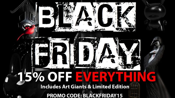 Black Friday at Kidrobot
