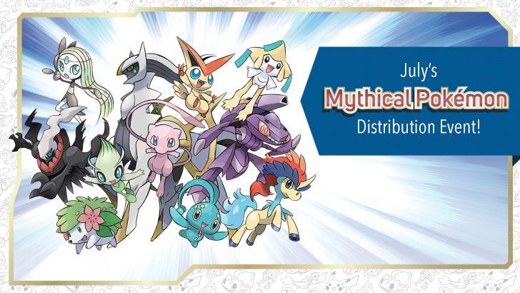 Celebrate Summer With Shaymin, July's Mythical Pokémon!