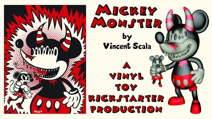 Mickey Monster by Vincent Scala, Kickstarter!