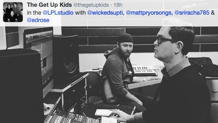 New Get Up Kids Album