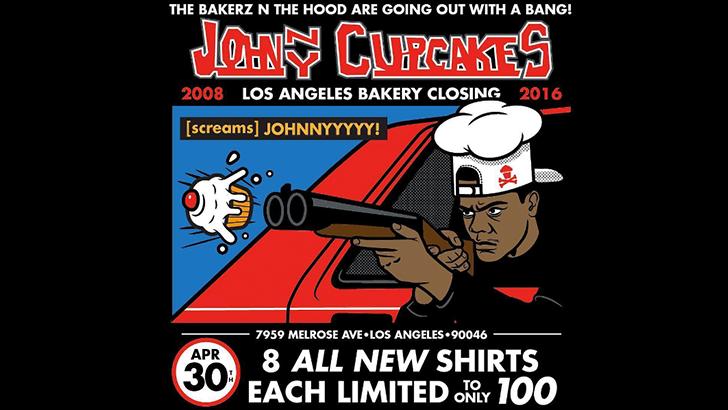 Johnny Cupcakes LA Closing