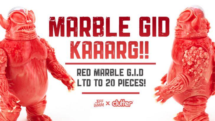 The Unpainted Red & GID MEAT Marbled Kaaarg!