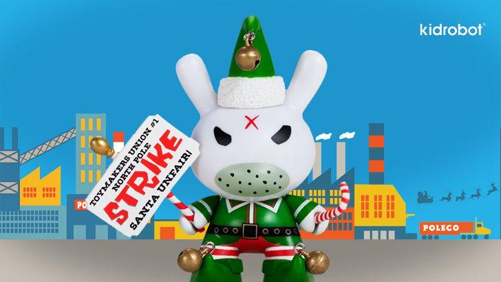 It's Christmas at Kidrobot!