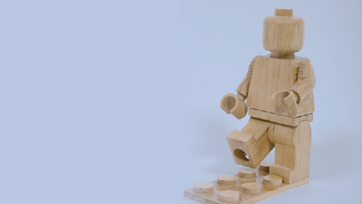 Wooden Lego Minifigures by BTmanufacture
