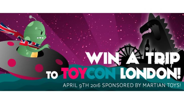 Martian Toys ToyConUK Contest Roundup