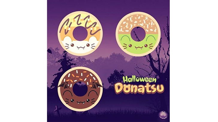 MJ Hsu Halloween Donatsu Coming Soon