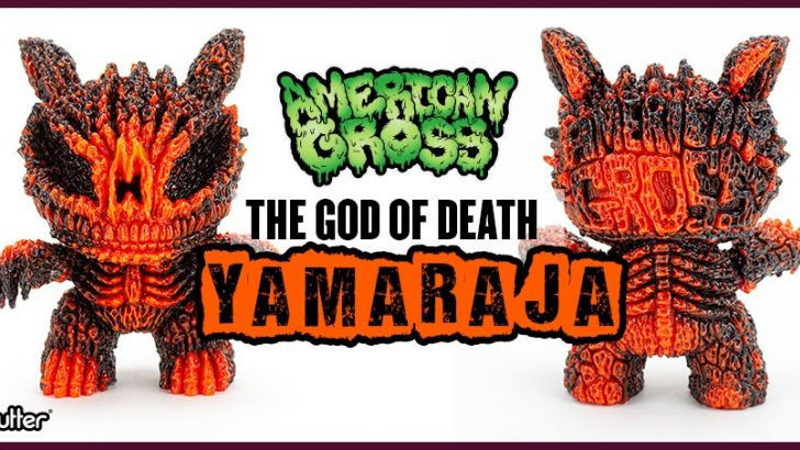 Introducing Yamaraja, the God of Death by American Gross.​