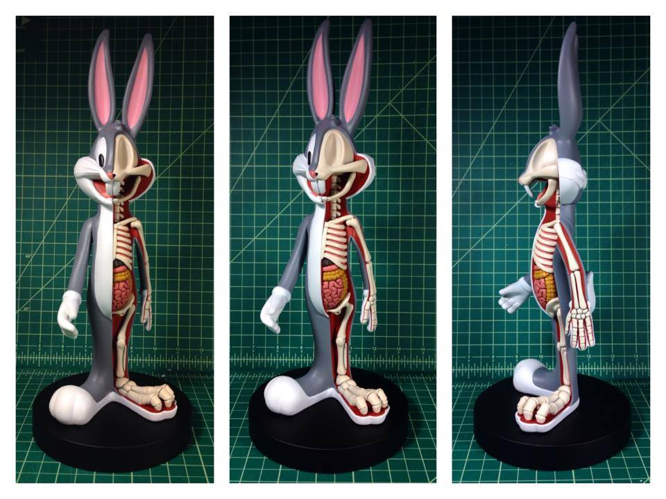 Bugs Bunny Anatomical Wabbit By Jason Freeny X Kidrobot Clutter