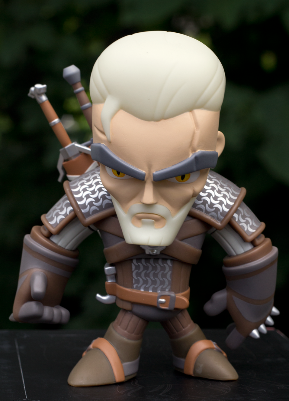 Witcher 3 Geralt Figure By J Nx Review Clutter Magazine