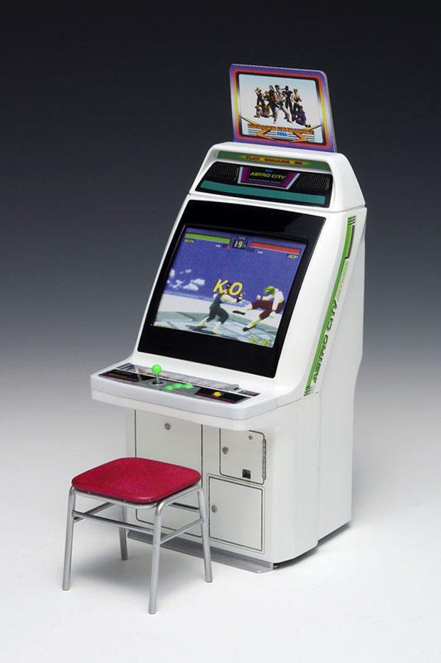 1 12 Scale Sega Astro City Arcade Cabinet Clutter Magazine