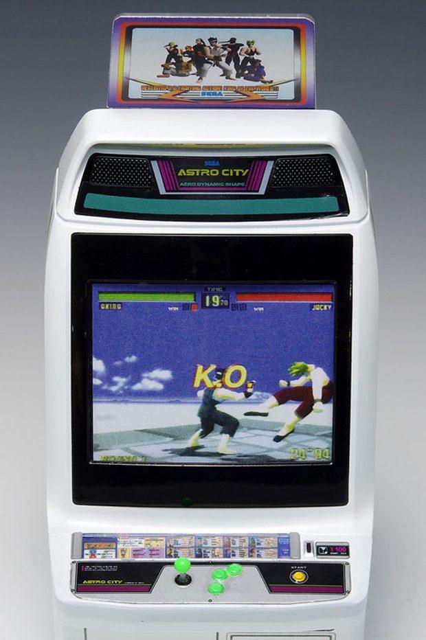 1/12 Scale SEGA Astro City Arcade Cabinet | Clutter Magazine