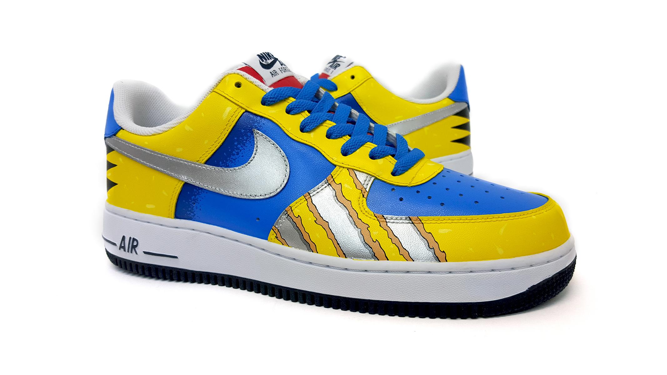 ce257ffc45af sekure d wolverine 2.jpg. Tags  Sekure D · Nike · Sekure D Custom · Sekure D  Customs · Sneakers · Air Force 1 ...