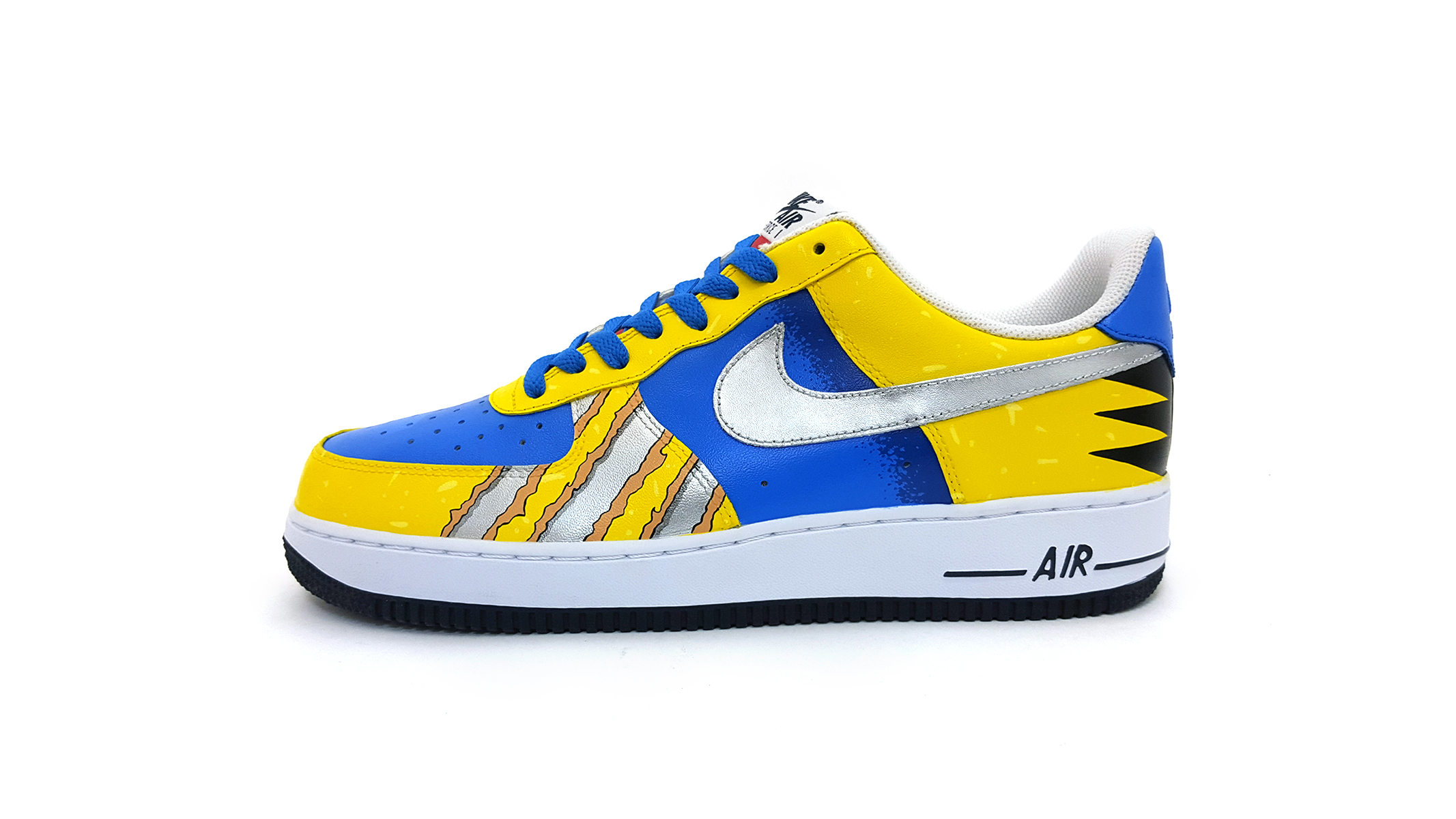 cb1f9387d5ad Custom Wolverine Nike Air Force 1s by Sekure D